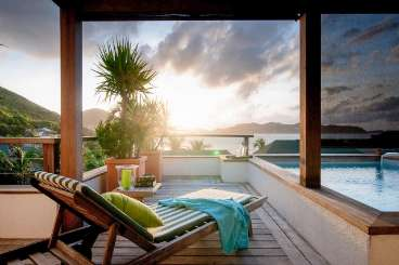 St Barths Romantic Retreat, Honeymoon Villa Phoenix