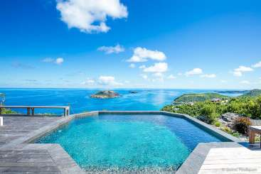 Villa Pool at Villa WV BYZ (Byzance) at Colombier, St. Barthelemy, Family-Friendly, Pool, 2 Bedroom, 2 Bathroom, WiFi, WIMCO Villas