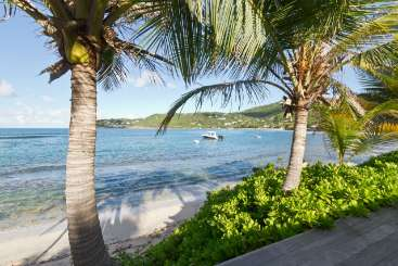 Beach at Villa WV CHL (Les Sables) at Lorient Beach, St. Barthelemy, Family-Friendly, Pool, 2 Bedroom, 3 Bathroom, WiFi, WIMCO Villas