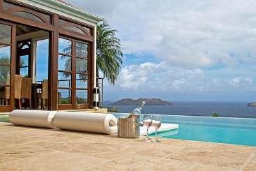 St Barths Caribbean Villa Special, VillaVilla C'est ma Vue