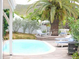 Villa Pool at Villa WV EDN (Eden) at St. Jean, St. Barthelemy, Family-Friendly, Pool, 2 Bedroom, 2 Bathroom, WiFi, WIMCO Villas