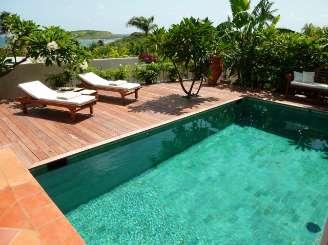 Villa Pool at Villa WV EUG (Eugenia) at Grand Cul de Sac, St. Barthelemy, Pool, 1 Bedroom, 1 Bathroom, WiFi, WIMCO Villas