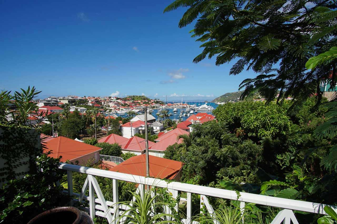 The view from Villa WV FCC (Apartment Colony Club) at Gustavia, St. Barthelemy, Pool, 1 Bedroom, 1 Bathroom, WiFi, WIMCO Villas