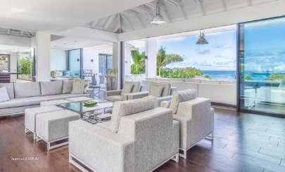 St Barths Beachfront Villa Golden Palm