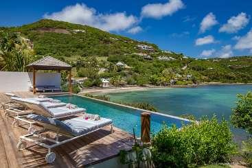 St Barths Beachfront Villa Javacanou
