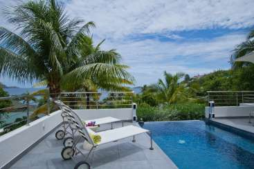 Villa Pool at Villa WV JMS (Skrutten) at Pointe Milou, St. Barthelemy, Family-Friendly, Pool, 2 Bedroom, 2 Bathroom, WiFi, WIMCO Villas