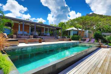 St Barths Rockstar Retreat, Luxury Villa Amancaya