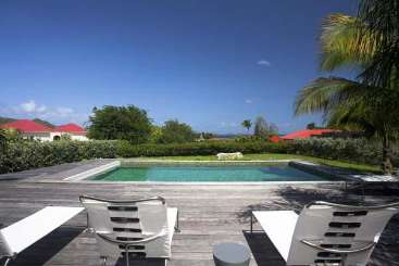 Villa Pool at Villa WV MAK (MAK) at St. Jean, St. Barthelemy, Pool, 2 Bedroom, 2 Bathroom, WiFi, WIMCO Villas