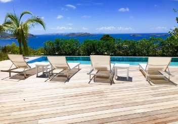 St Barths Romantic Retreat, Honeymoon Villa Marie