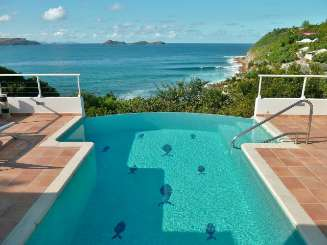 Villa Pool at Villa WV PAF (Villa Parsifal) at Pointe Milou, St. Barthelemy, Family-Friendly, Pool, 1 Bedroom, 1 Bathroom, WiFi, WIMCO Villas