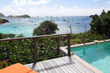 Villa Pool at Villa WV PSL (Petit Saint Louis) at Corossol, St. Barthelemy, Pool, 1 Bedroom, 1 Bathroom, WiFi, WIMCO Villas