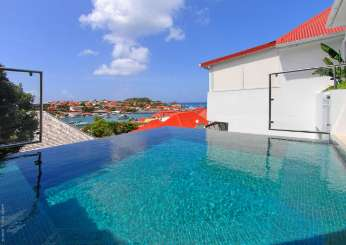 Villa Pool at Villa WV ROS (Wastra) at Gustavia, St. Barthelemy, Family-Friendly, Pool, 2 Bedroom, 2.5 Bathroom, WiFi, WIMCO Villas