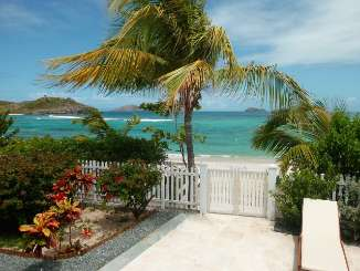 Beach at Villa WV SAJ (Sandra & Jessica) at Lorient Beach, St. Barthelemy, Family-Friendly, No Pool, 2 Bedroom, 3 Bathroom, WiFi, WIMCO Villas