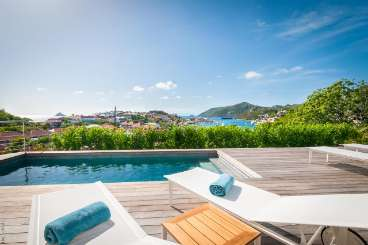 St Barths Romantic Retreat, Honeymoon Villa Shell Beach Villa