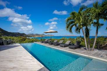 Villa Pool at Villa WV STR (Villa Avenstar) at Camaruche, St. Barthelemy, Family-Friendly, Pool, 5 Bedroom, 5 Bathroom, WiFi, WIMCO Villas