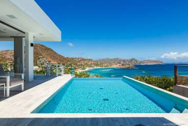 Villa Pool at Villa WV TAR (Star) at Camaruche, St. Barthelemy, Family-Friendly, Pool, 3 Bedroom, 3 Bathroom, WiFi, WIMCO Villas