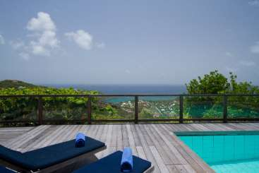 The view from Villa WV TDC (Tranquille) at Vitet, St. Barthelemy, Family-Friendly, Pool, 3 Bedroom, 3 Bathroom, WiFi, WIMCO Villas