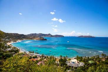 The view from Villa WV TOR (La Tortue) at Lorient, St. Barthelemy, Family-Friendly, Pool, 1 Bedroom, 1 Bathroom, WiFi, WIMCO Villas