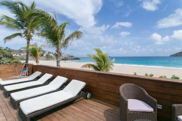 St Barths Beachfront Villa Villa Do Dragan
