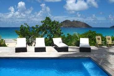 St Barths Beachfront Villa Villa Do Dragan