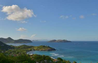 The view from Villa WV VIL (Villon) at Petite Saline, St. Barthelemy, Family-Friendly, Pool, 2 Bedroom, 2 Bathroom, WiFi, WIMCO Villas