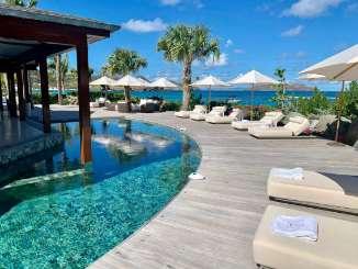 Villa Pool at Villa WV VLP (La Plage) at Lorient Beach, St. Barthelemy, Family-Friendly, Pool, 7 Bedroom, 7.5 Bathroom, WiFi, WIMCO Villas