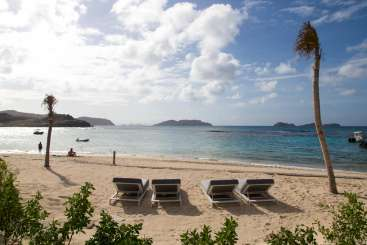 Beach at Villa WV VSC (Sand Castle) at Lorient Beach, St. Barthelemy, Family-Friendly, No Pool, 3 Bedroom, 3.5 Bathroom, WiFi, WIMCO Villas
