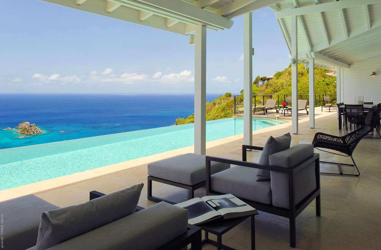 The View, Incredible Pool, St Barths, WV VUE