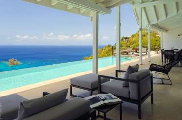 St Barths Rockstar Retreat, Luxury Villa The View