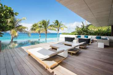 St Barths Beachfront Villa Wake Up