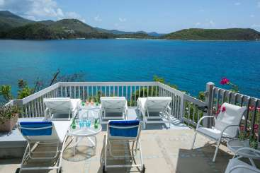 The view from Villa CT BEI (Beit Hawa) at Rendezvous Bay, St. John, Family-Friendly, No Pool, 3 Bedroom, 2 Bathroom, WiFi, WIMCO Villas, Available for the Holidays