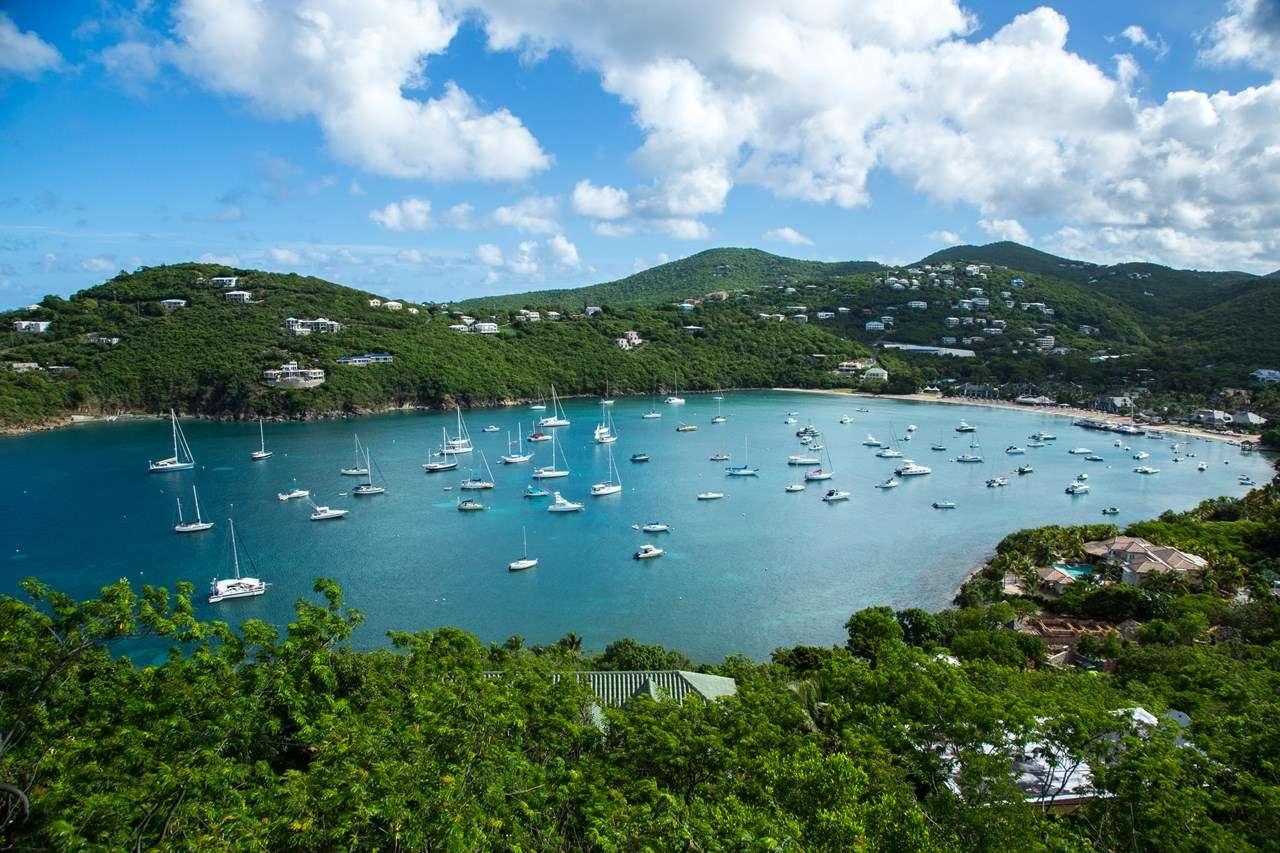 The view from Villa CT BLU (Blue Tang) at Great Cruz Bay, St. John, Family-Friendly, Pool, 2 Bedroom, 2 Bathroom, WiFi, WIMCO Villas