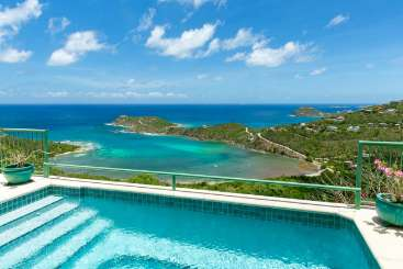 Villa Pool at Villa CT CXV (Croix Vista) at Fish Bay, St. John, Family-Friendly, Pool, 4 Bedroom, 4.5 Bathroom, WiFi, WIMCO Villas