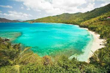 The view from Villa MAS 2BE (Peter Bay ) at North Shore, St. John, Family-Friendly, Pool, 4 Bedroom, 4.5 Bathroom, WiFi, WIMCO Villas
