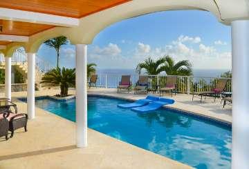 Villa Pool at Villa CT SEA (Sea Forever) at Chocolate Hole, St. John, Family-Friendly, Pool, 5 Bedroom, 5.5 Bathroom, WiFi, WIMCO Villas