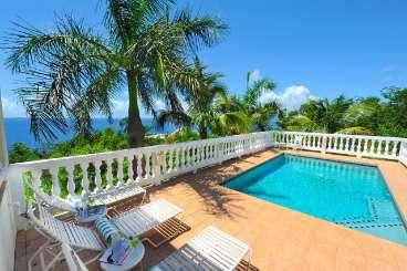 Villa Pool at Villa CT SPM (Sea Palms) at Great Cruz Bay, St. John, Family-Friendly, Pool, 3 Bedroom, 3.5 Bathroom, WiFi, WIMCO Villas