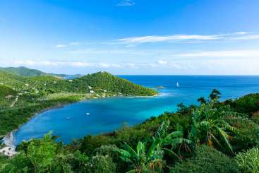 The view from Villa CT VIR (Southern Breeze) at Fish Bay, St. John, Family-Friendly, Pool, 4 Bedroom, 4 Bathroom, WiFi, WIMCO Villas