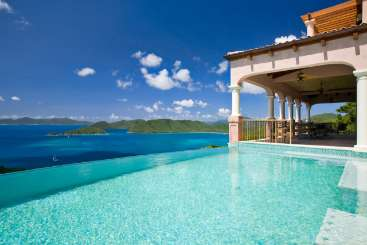 Villa Pool at Villa MAS CAR (Carlota) at North Shore, St. John, Family-Friendly, Pool, 5 Bedroom, 6.5 Bathroom, WiFi, WIMCO Villas