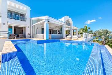 Villa Pool at Villa C AMR (Amaryllis) at Simpson Bay Lagoon, St. Martin, Family-Friendly, Pool, 5 Bedroom, 5.5 Bathroom, WiFi, WIMCO Villas