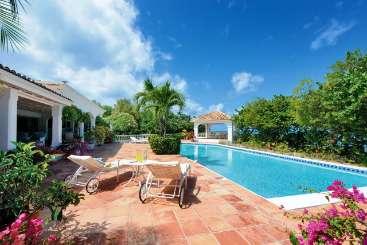 Villa Pool at Villa PIE DAY (Day-O) at Beach Side/Plum Beach, St. Martin, Family-Friendly, Pool, 3 Bedroom, 4 Bathroom, WiFi, WIMCO Villas