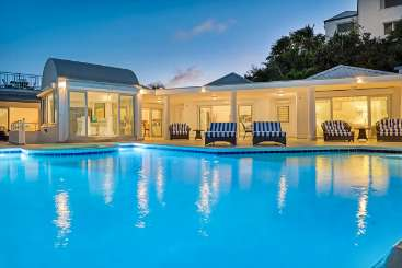 Villa Pool at Villa C CLI (Nid D'Amour) at Hillside/Terres Basses, St. Martin, Family-Friendly, Pool, 2 Bedroom, 2 Bathroom, WiFi, WIMCO Villas, Available for the Holidays