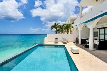Villa Pool at Villa PIE FAR (Farniente) at Beachfront/Cupecoy, St. Martin, Family-Friendly, Pool, 4 Bedroom, 4.5 Bathroom, WiFi, WIMCO Villas