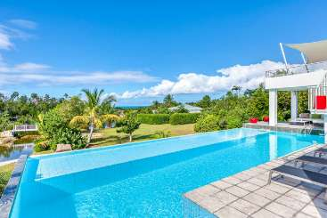 Villa Pool at Villa C GRP (Grand Palms) at Hillside/Plum Bay, St. Martin, Family-Friendly, Pool, 3 Bedroom, 3 Bathroom, WiFi, WIMCO Villas