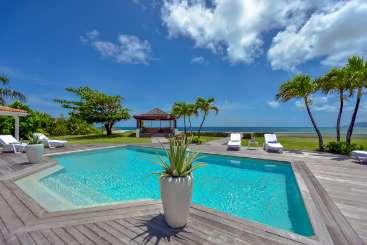St. Martin St Martin Beachfront Villa Casa Cervo