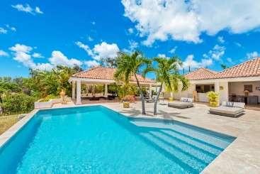 Villa Pool at Villa C LAN (La Nina) at Hillside/Terres Basses, St. Martin, Family-Friendly, Pool, 2 Bedroom, 2.5 Bathroom, WiFi, WIMCO Villas