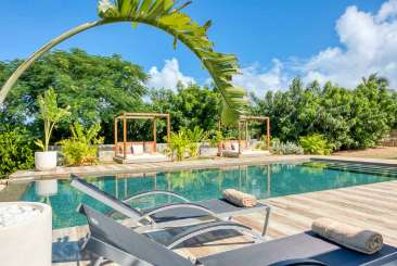 Villa Pool at Villa C NBL (Nuit Blanche) at Hillside/Terres Basses, St. Martin, Family-Friendly, Pool, 3 Bedroom, 3 Bathroom, WiFi, WIMCO Villas