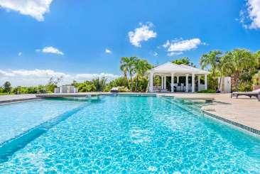 Villa Pool at Villa PIE SLU (Sol e Luna) at Hillside/Terres Basses, St. Martin, Family-Friendly, Pool, 3 Bedroom, 3 Bathroom, WiFi, WIMCO Villas