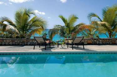 Villa Pool at Villa PIE BAI (Baie Longue Beach House) at Beach Side/Baie Longue, St. Martin, Family-Friendly, Pool, 3 Bedroom, 3 Bathroom, WiFi, WIMCO Villas