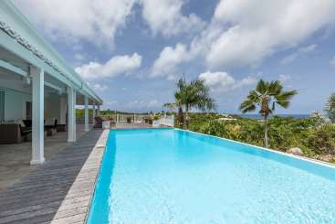 Villa Pool at Villa PIE CAL (Callisto) at Hillside/Terres Basses, St. Martin, Family-Friendly, Pool, 3 Bedroom, 3.5 Bathroom, WiFi, WIMCO Villas