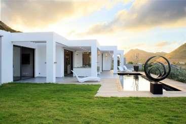 Exterior of Villa PIE PRL (Pearl) at Hillside/Orient, St. Martin, Family-Friendly, Pool, 2 Bedroom, 2 Bathroom, WiFi, WIMCO Villas